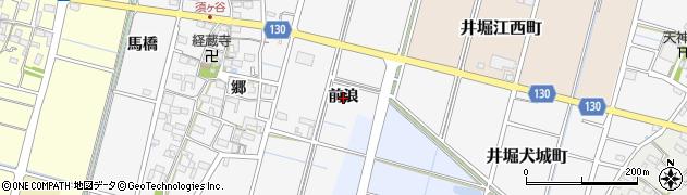 愛知県稲沢市平和町須ケ谷(前浪)周辺の地図