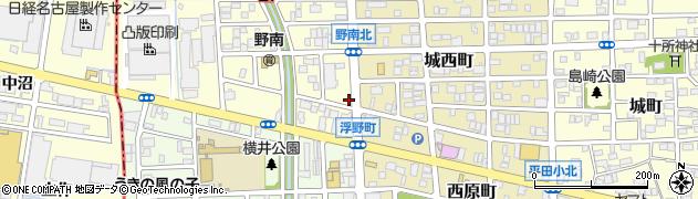 ふれあい周辺の地図