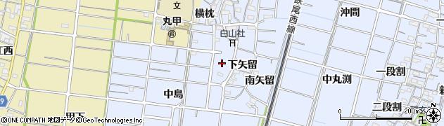 愛知県稲沢市祖父江町三丸渕(報導寺)周辺の地図