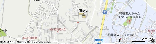 愛知県尾張旭市旭ケ丘町(森)周辺の地図