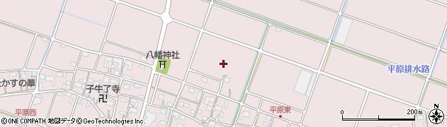 岐阜県海津市海津町平原周辺の地図