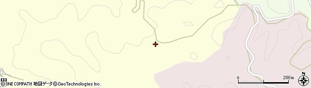 愛知県豊田市小渡町(山ノ田)周辺の地図