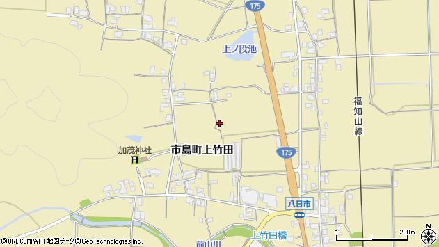 〒669-4341 兵庫県丹波市市島町上竹田の地図