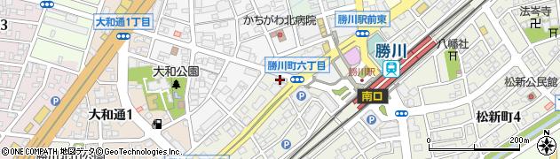 離宮周辺の地図