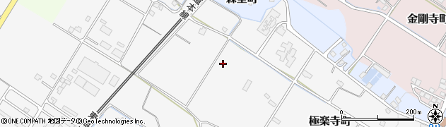 滋賀県彦根市極楽寺町周辺の地図