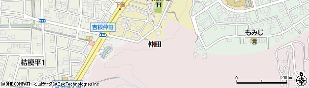 愛知県名古屋市守山区吉根(仲田)周辺の地図