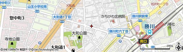 愛知県春日井市角崎町周辺の地図