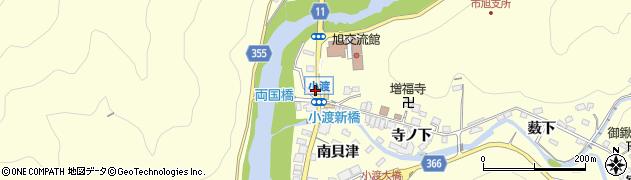 福岡屋周辺の地図