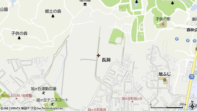〒488-0086 愛知県尾張旭市旭ケ丘町長洞の地図