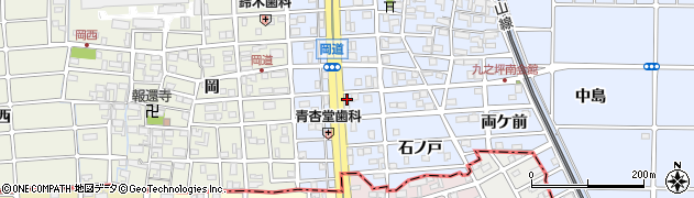 三ツ和周辺の地図