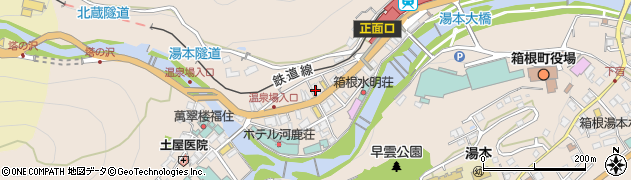 箱根 湯本 の 天気