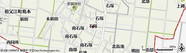 愛知県稲沢市祖父江町島本(石塚)周辺の地図