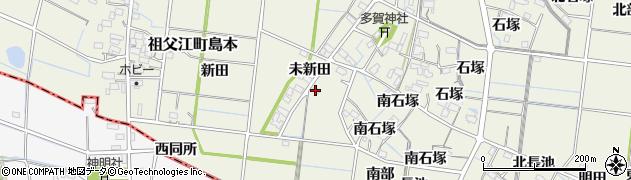 愛知県稲沢市祖父江町島本(東同所)周辺の地図
