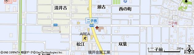 マリノ師勝店周辺の地図