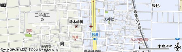 真周辺の地図