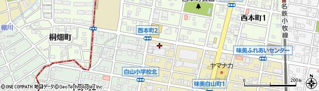 グリヤ周辺の地図