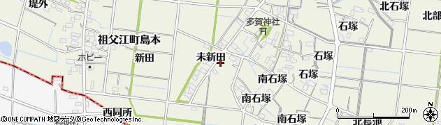 愛知県稲沢市祖父江町島本周辺の地図