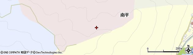 愛知県豊田市下中町(南平)周辺の地図