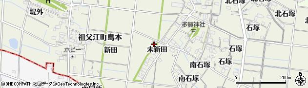 愛知県稲沢市祖父江町島本(北同所)周辺の地図