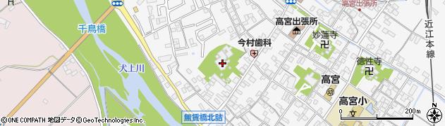 円照寺周辺の地図
