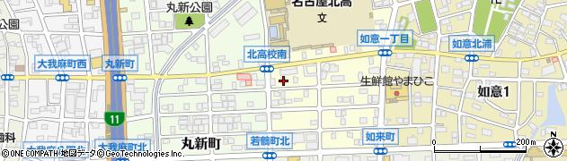 食堂・鈴壱周辺の地図