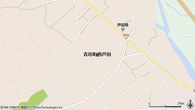 〒669-3803 兵庫県丹波市青垣町西芦田の地図