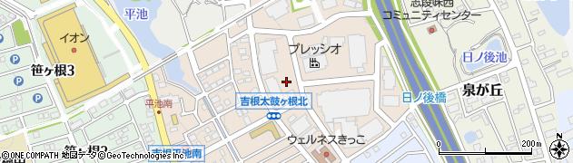 愛知県名古屋市守山区花咲台周辺の地図
