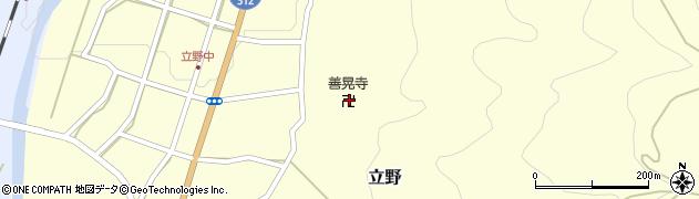 善晃院周辺の地図