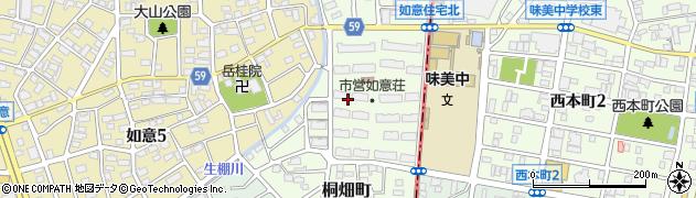 愛知県名古屋市北区桐畑町周辺の地図