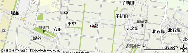 愛知県稲沢市祖父江町島本(中部)周辺の地図