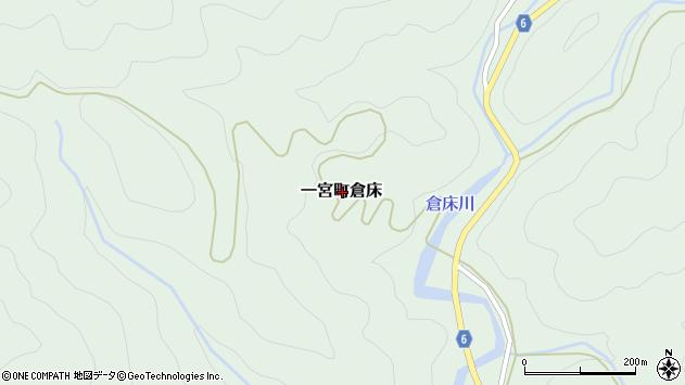 〒671-4101 兵庫県宍粟市一宮町倉床の地図