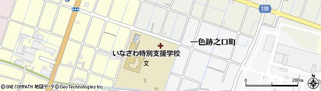 愛知県稲沢市一色森山町周辺の地図