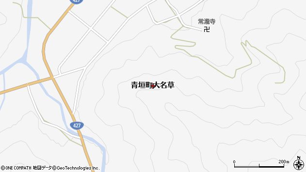 〒669-3822 兵庫県丹波市青垣町大名草の地図