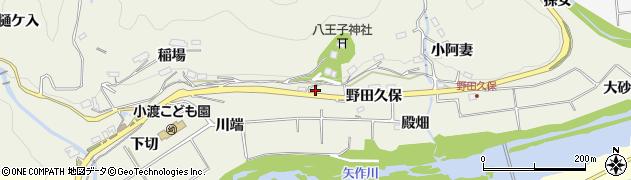 愛知県豊田市下切町(森下)周辺の地図