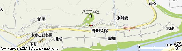 愛知県豊田市下切町周辺の地図