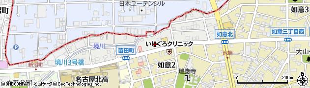 マイケル周辺の地図