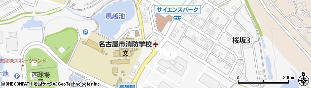 いなぶ周辺の地図