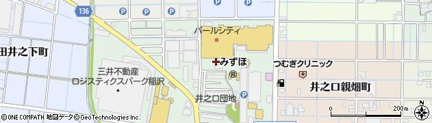 愛知県稲沢市井之口大坪町周辺の地図