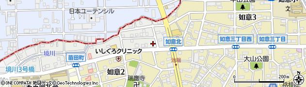ほっともっと 苗田町店周辺の地図
