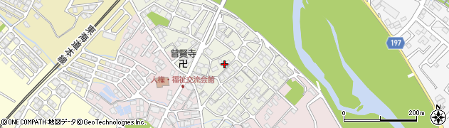 滋賀県彦根市広野町周辺の地図