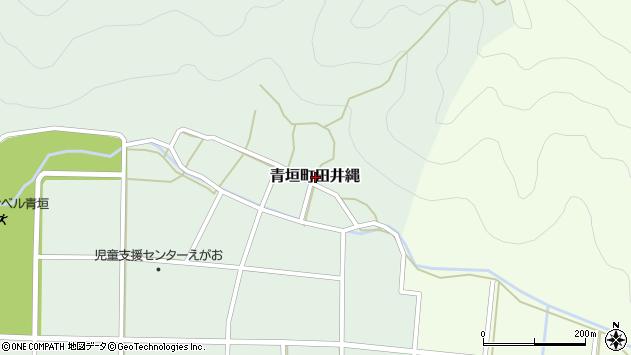 〒669-3804 兵庫県丹波市青垣町田井縄の地図