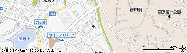 愛知県名古屋市守山区下志段味(吉田)周辺の地図