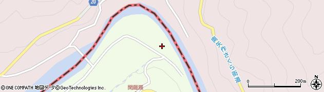 愛知県豊田市閑羅瀬町(東畑)周辺の地図