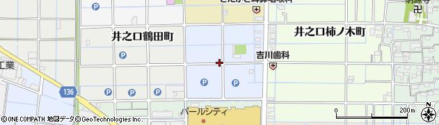 愛知県稲沢市井之口石塚町周辺の地図