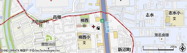 楠住宅周辺の地図