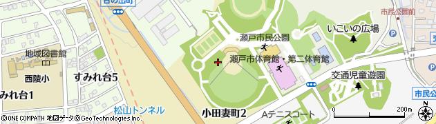 愛知県瀬戸市小田妻町周辺の地図