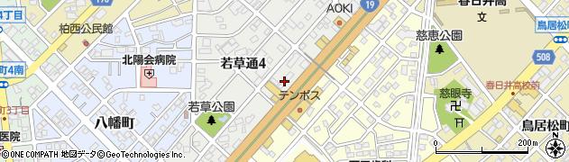 あいちゃん周辺の地図