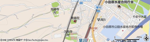 東善院周辺の地図