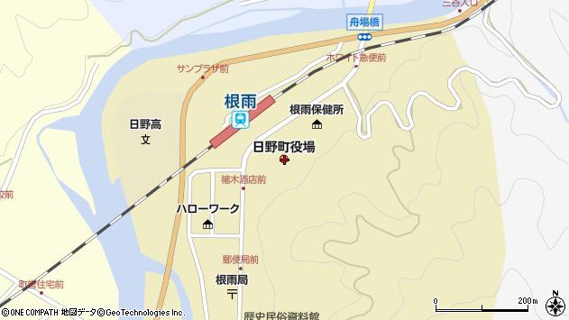 〒689-4500 鳥取県日野郡日野町(以下に掲載がない場合)の地図