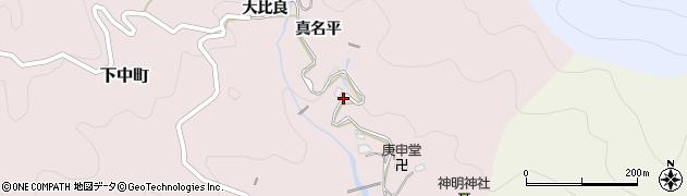 愛知県豊田市下中町(中根)周辺の地図